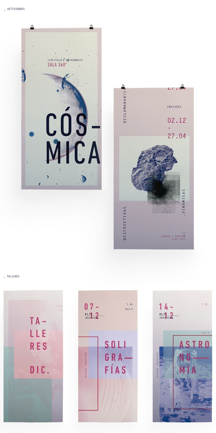 // Identidad Institucional: PLANETARIO on Behance