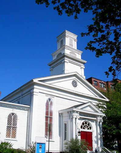 Nyack White Church | A town full of churches and other signi… | Flickr