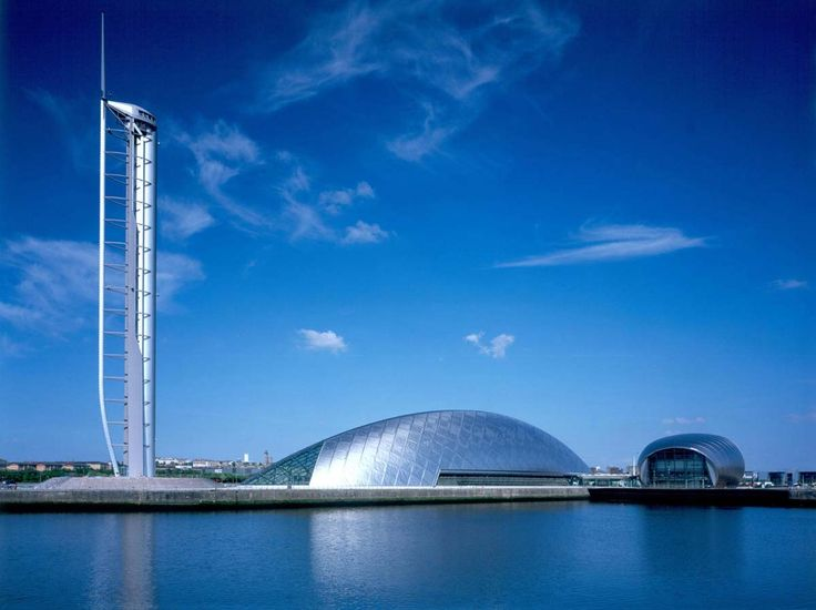 """Glasgow Science Centre and Imax....goes well with """"Glasgow"""" by David Guetta"""