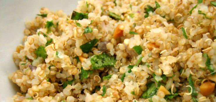 Receita de como preparar quinoa