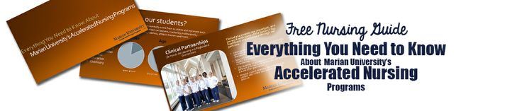 Download Your Free Guide: Everything You Need to Know About Marian University's Accelerated Nursing Programs
