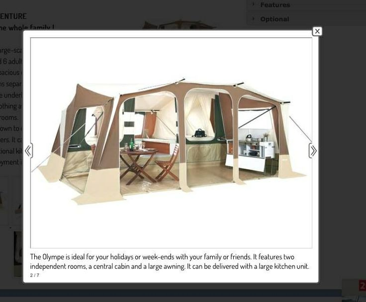 Trigano camping trailer. Want one so bad!