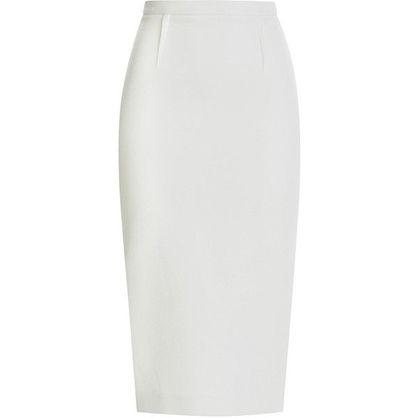 Best 25  White pencil skirts ideas only on Pinterest | White skirt ...