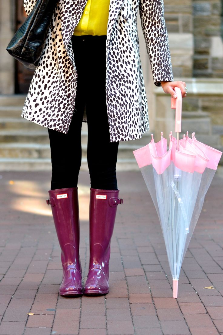 CollegeFashionista X Hunter Boot: Temple University #HunterUniversityStyle: