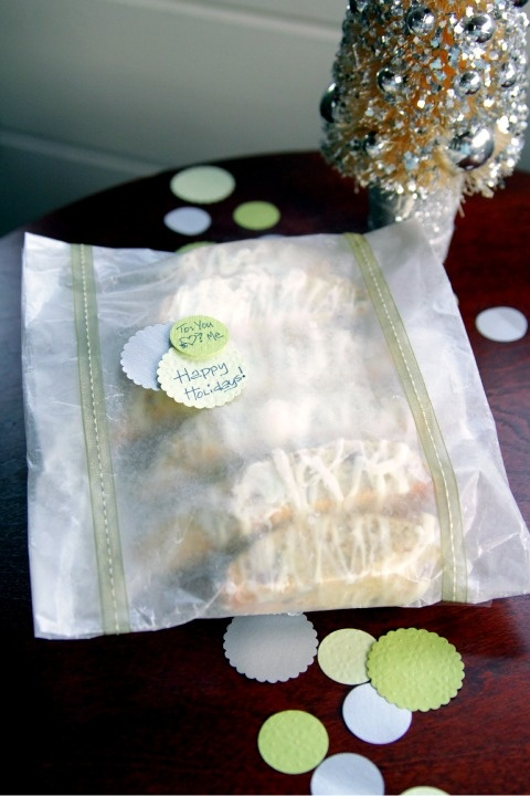 easy gift wrap for baking