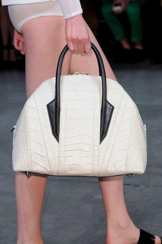 Helmut Lang Spring 2014 runway bags