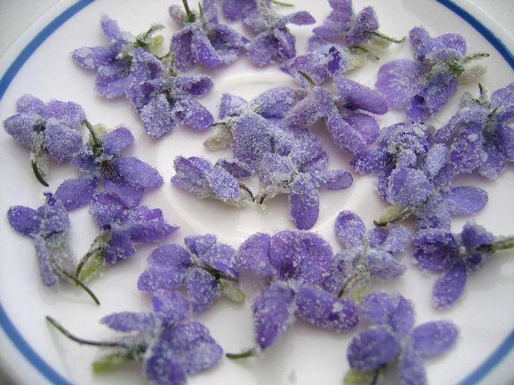la recette des fleurs cristallisées