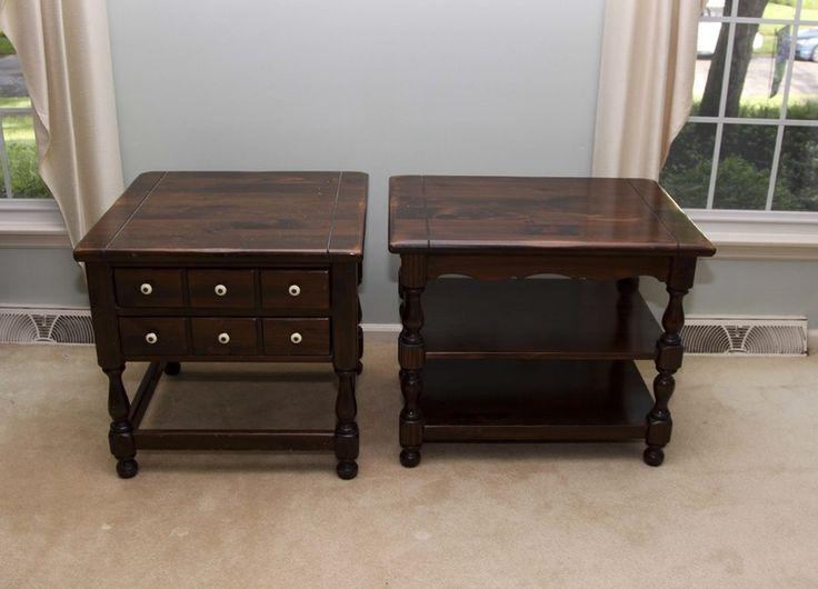 Pair of Vintage Ethan Allen End Tables 'Old Tavern Collection' - 39 Best Ethan Allen Furniture Images On Pinterest Ethan Allen