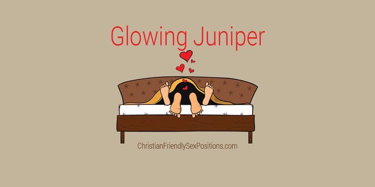 Romantic Christian-friendly missionary-style sex position: Glowing Juniper #MarriageBed #SexTip