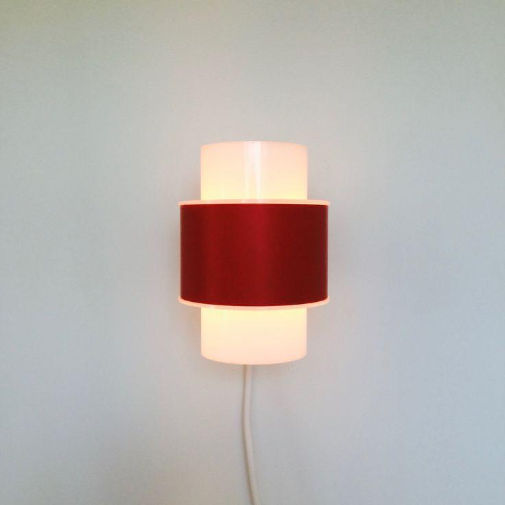 Bent Karlby - Danish Designed Sconces For Lyfa - 1970s Vintage Wall Lamp - Retro Lighting - Mid Century Denmark by iVintageScandinavia on Etsy