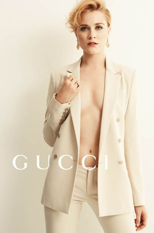 Evan Rachel Wood #gucci