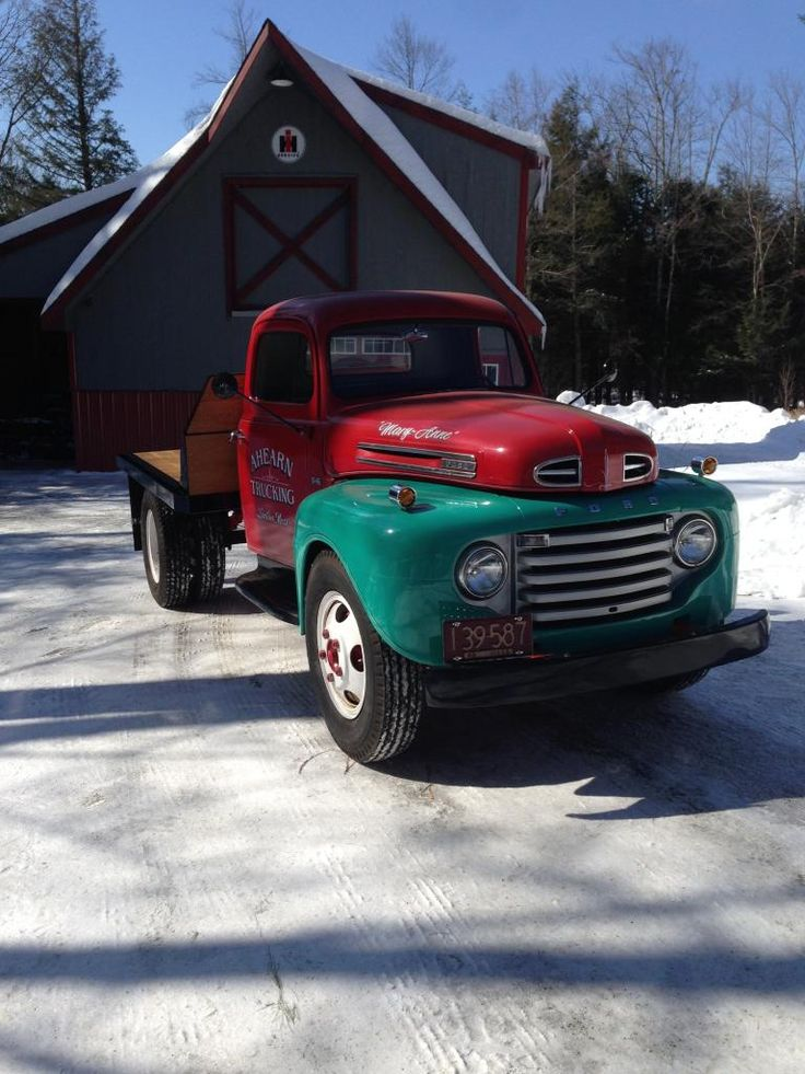 New Fabricated F6 Flatbed - Ford Truck Enthusiasts Forums