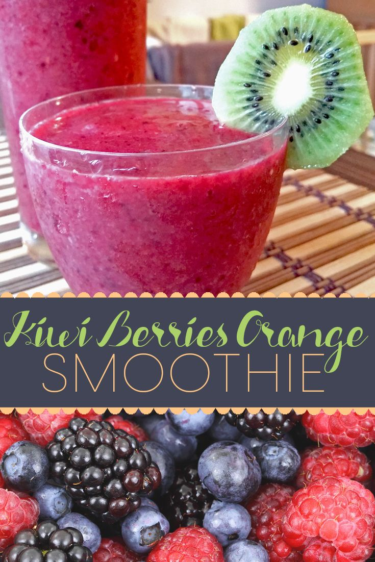 A really quick and easy smoothie recipe that is refreshing and your whole family will love.