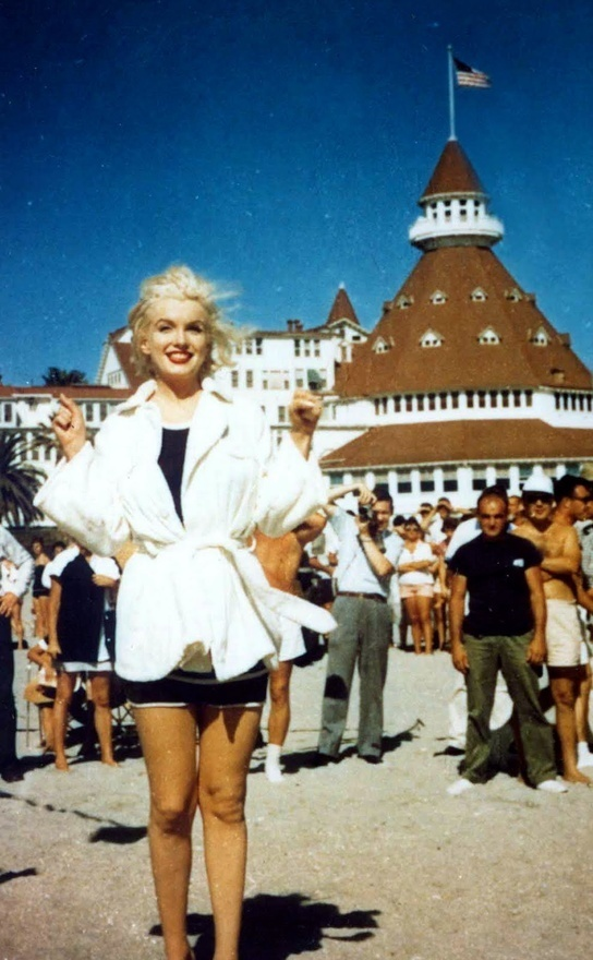 Hotel Del Coronado where Marilyn Monroe filmed Some Like it Hot