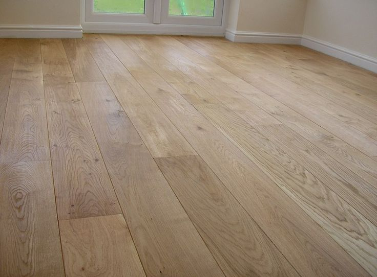 Character Grade Unfinished European Oak Flooring