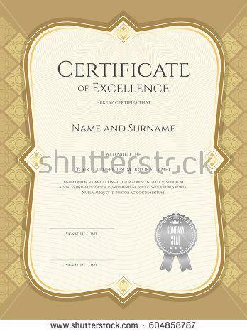 Best 25 Certificate of achievement template ideas on Pinterest