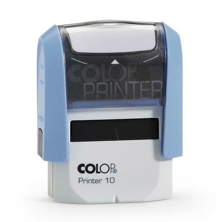 Colop Printer 10, handige kleine zelf-inktende stempel. Geschikt voor 2 regels eigen tekst.