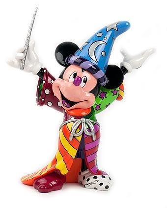 Britto Sorcerer Mickey Figurine Available at: www.always-forever.com