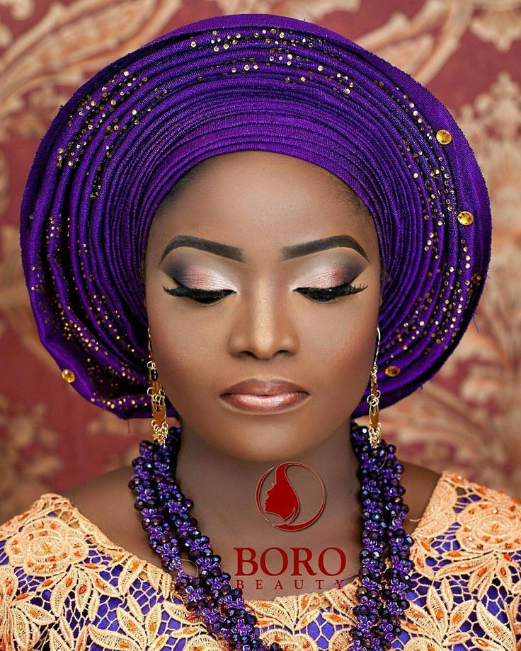 Hello #Thursday.. -  Subtle.. Beautiful bridal inspiration by @boro_beauty  Eyes @hushbeautyng  Lashes @voanbeauties  @jossy_tcreative  #gidiwedingsng #mua #muse #gele #purple #bead #asooke #makeup #tbt #boro #naijamua . . . . Posted with @samsungmobileng . . ============SPONSORED========== . Need that defining portrait? We've got you covered. Studio and home services available for family and personal portraits. Contact 23481-66057-930 Follow on instagram @aderemiho3d