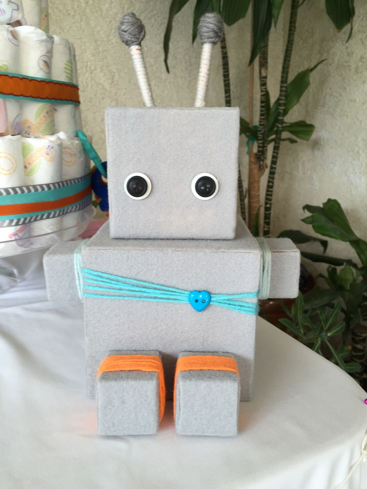 robot baby showers on pinterest robot cake surprise baby showers