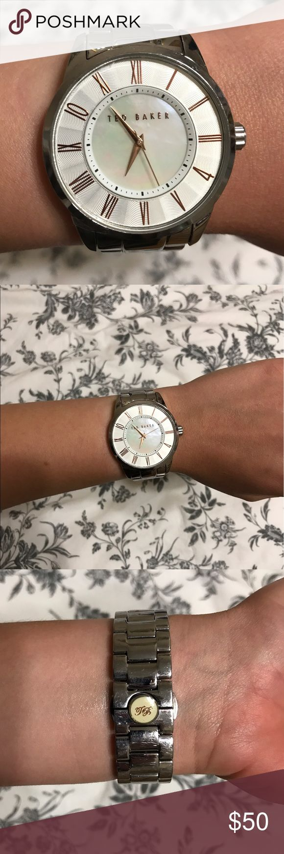 Ted Baker Silver Watch Ted Baker watch in excellent condition. Works perfectly. Ted Baker Accessories Watches
