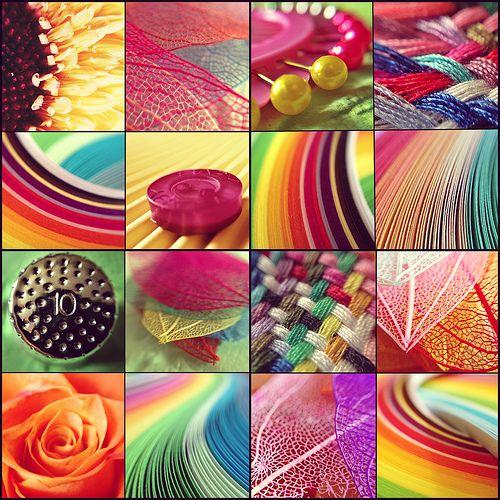 Brilliant Colors Collage