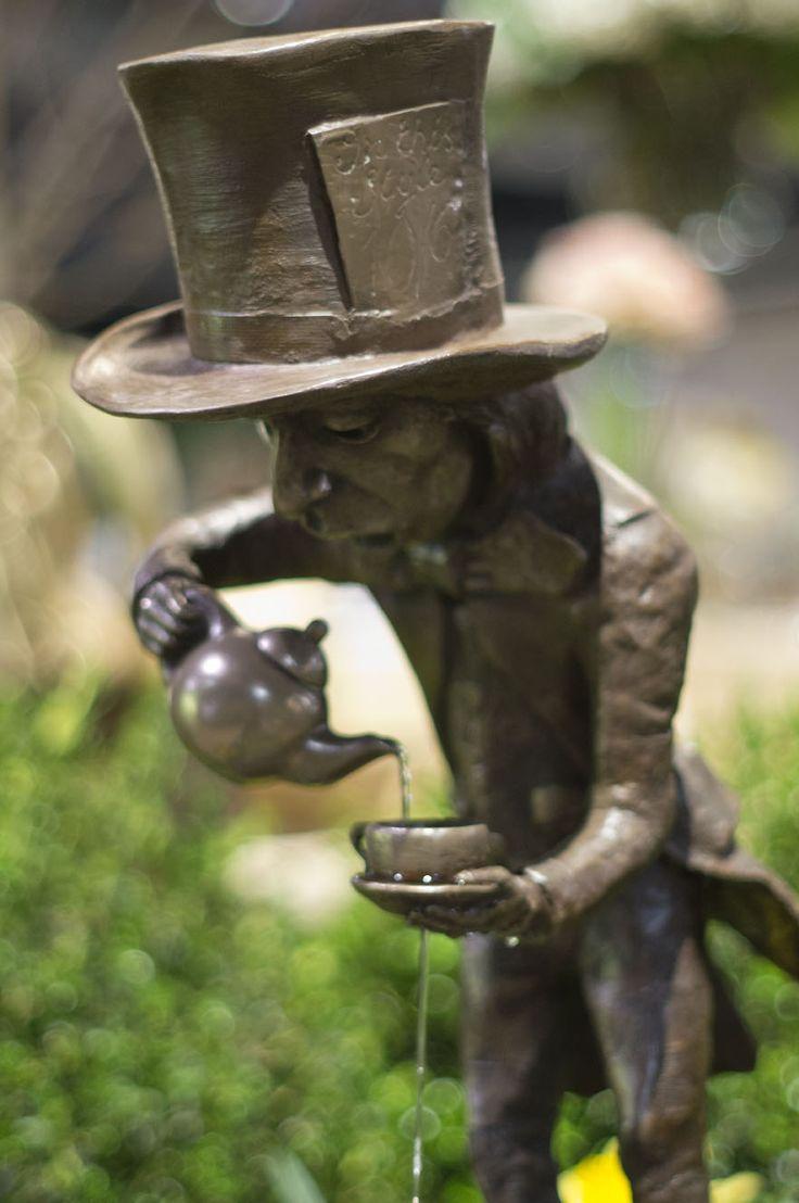218 best garden statues images on pinterest garden - Alice in wonderland garden statues ...