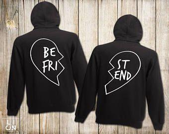 Meilleur ami Hoodies, Bff chemises, meilleur ami Hoodies, correspondant meilleur ami Hoodies, unisexe, meilleur cadeau