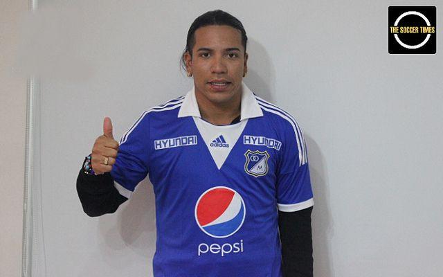 Dayro Moreno es oficialmente nuevo jugador de Millonarios FC © http://thesoccertimestv.blogspot.com