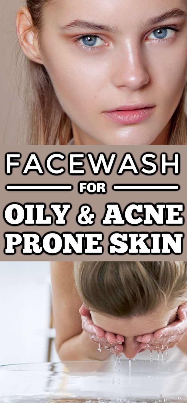 5 DIY Natural Face Wash For Oily And Acne Prone Skin