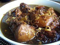 Ayam Semur Jawa (Javanese Sweet Chicken in Spicy Sauce)