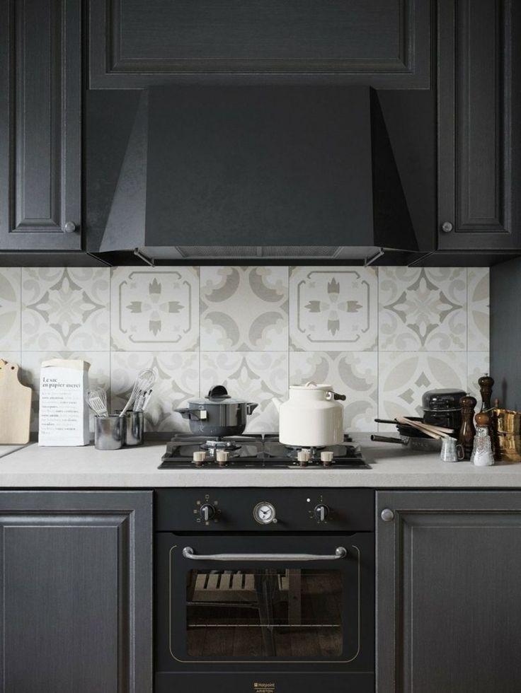 credence de cuisine originale free credence blanc. Black Bedroom Furniture Sets. Home Design Ideas