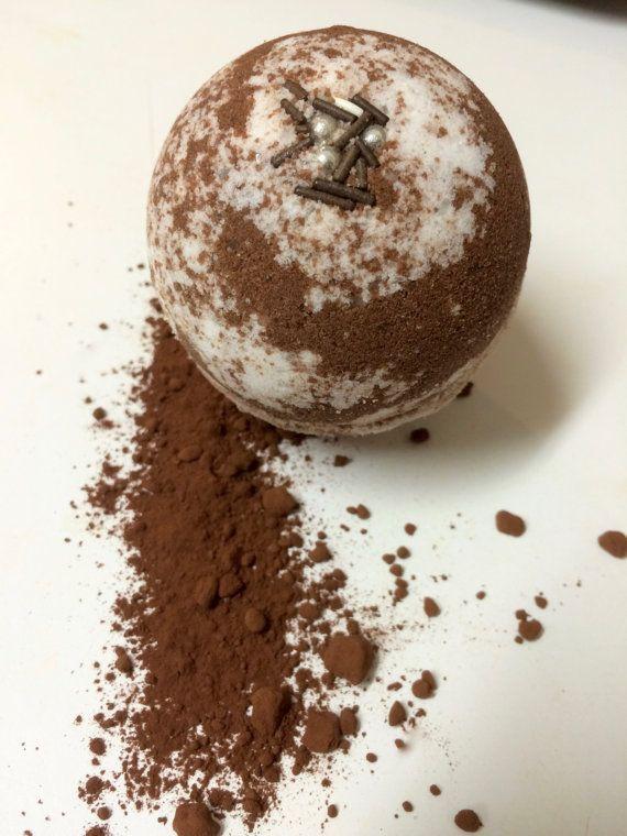 CHEWBATHA, Star Wars, bombe de bain menthe chocolat, cadeaux pour lui, bombe de bain cacao au chocolat.