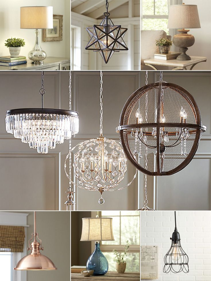 Looking for some bright decorating ideas whether it 39 s a pendant table lamp or chandelier - Can light chandelier ...