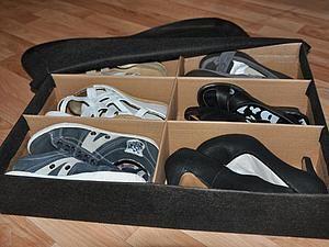 Caixa de armazenamento prático para sapatos com as mãos | A Feira dos Mestres - artesanal, feito à mão