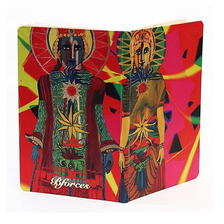 Lord Vishnu & Lakshmi Lined Notebook - BFLN5X3(B) - Note Books - Notebooks & Pads - Paper Products