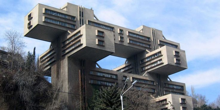A selection of some of the most bizarre buildings to survive the fall of the Soviet Union in countries like Croatia, Georgia, and Bulgaria.