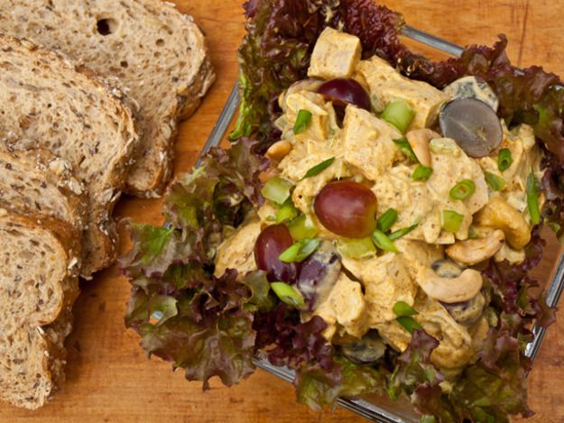Curried Chicken Salad with Grapes and Cashews | Serious Eats : Recipes