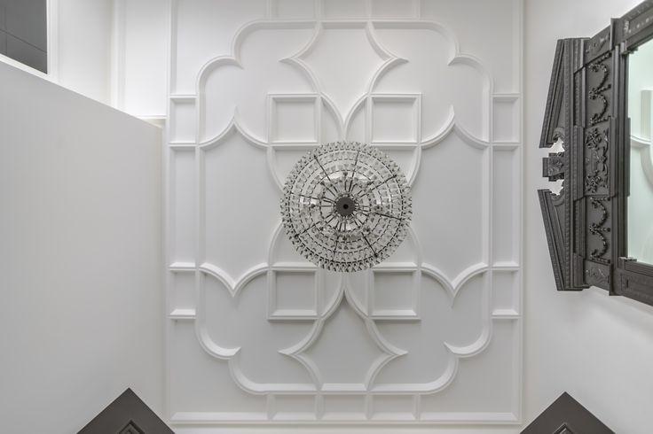 Custom Plaster Ceiling, designed & made by Crown Plaster Inc.  www.crownplaster.com