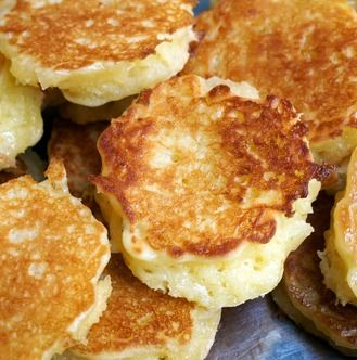 Recipe For Griddle Coconut Pancake - This Thai-style coconut pancake is cooked on a hot griddle and is a favorite street food. Because it is made with two types of rice flour, it is gluton free.