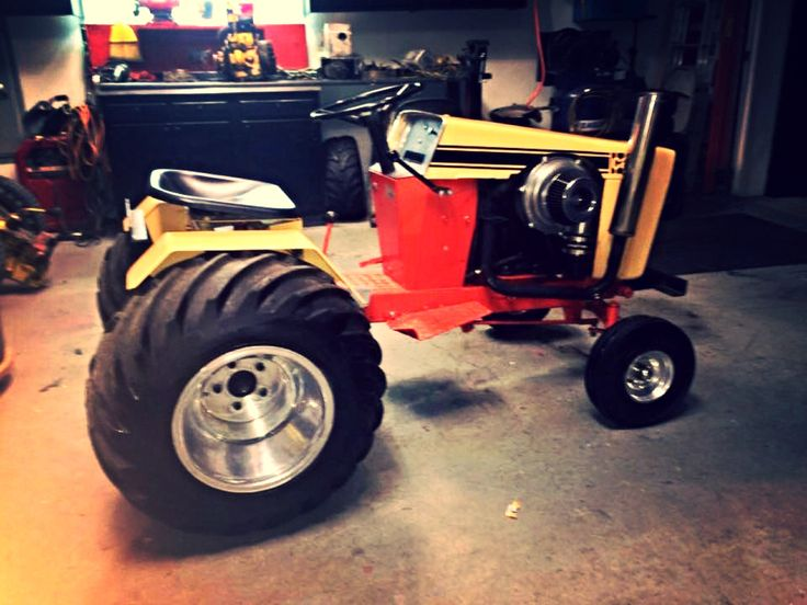 Garden Pulling Tractor Decal : Images about hot rod lawnmowers and pulling tractors