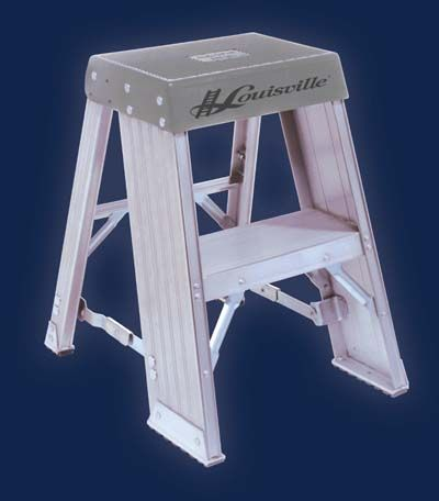 Ladders for Home Garage or Shop Commercial Gade Ladder - - Aluminum Step Stool or Stand Type IA : commercial step stool - islam-shia.org