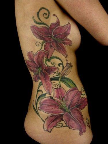 Google Image Result for http://www.prettyininktattoo.net/wp-content/uploads/2012/02/star-gazer-lily-side-piece-lily-tattoo-375x500.jpg