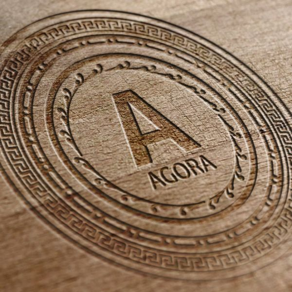 #createlogo #agora #logo #mikeamirov #разработатьлоготип #логотип #wood