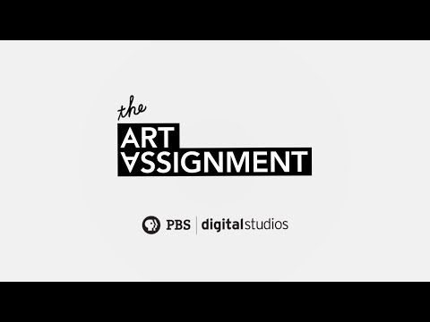 "The Art Assignment  is an awesome Youtube channel hosted by Curator Sarah Green that showcases a particular artists work and then gives an ""Art Assignment"" to be completed at home. Participants can then send in their artwork and it could be shown on a future episode."