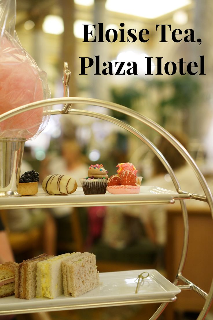 The Eloise themed afternoon tea in the Palm Court Room at New York City's iconic Plaza hotel is a perfect kid-friendly activity in NYC (with fab adult options too, complete with champagne).