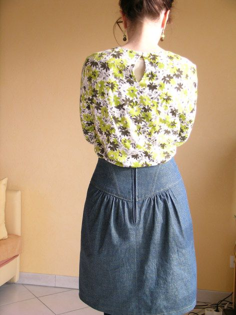 Crescent Skirt (Sewaholic) par Clicdentelles - thread&needles