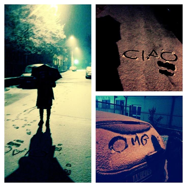 Winter is still between us... Brrrr...