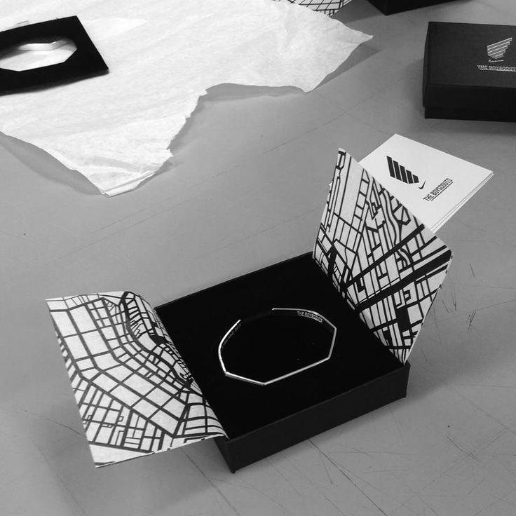 The making of The Boyscouts X Nike bracelet.