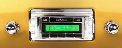 1947-1953 GMC Truck AM/FM RADIO USA-230 CUSTOM AUTOSOUND IPOD Aux